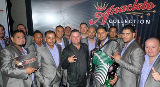 Imperio Group at the Hohner Booth