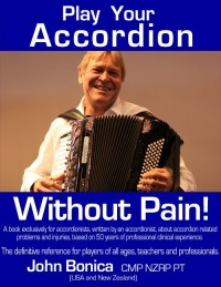 Book Cover: Play Your Accordion Without Pain