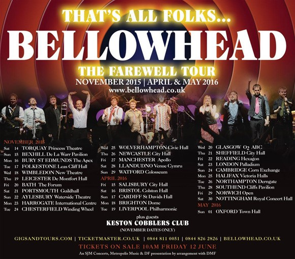 Bellowhead Tour Poster