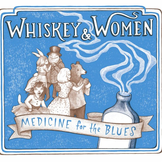 CD Whiskey for Medicine by Whiskey and Woman