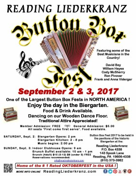 Poster for 2017 Button Box Fest