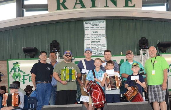 2017 Rayne Frog Festival competitors