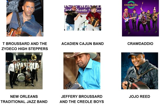 2018 zydeco groups