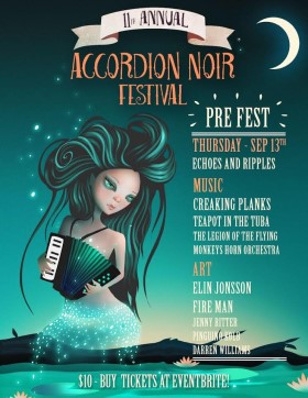 11th Accordion Noir Festival - Vancouver/Canada
