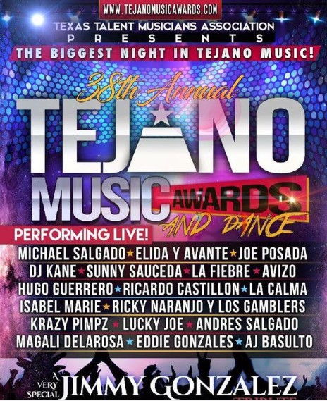 38th ANNUAL TEJANO MUSIC AWARDS - San Antonio/USA