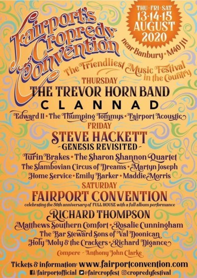 Poster Cropredy Convention, Oxfordshire